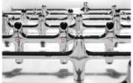 11 the beautiful game foosball table players