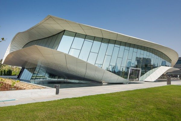 MIDDLE EAST / UAE / AFRICA: Etihad Museum - Dubai, UAE