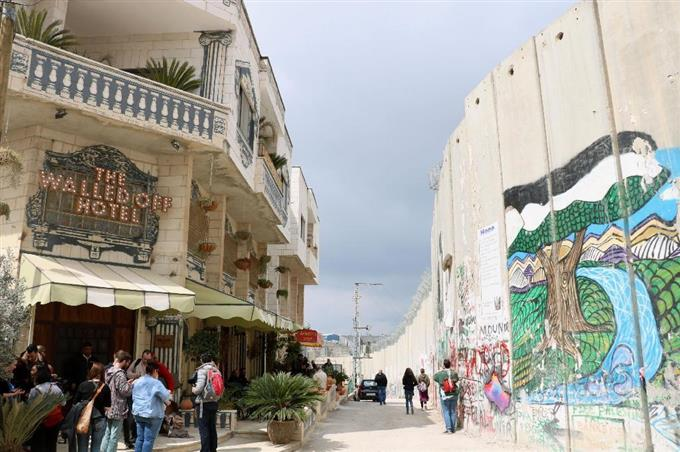 ART HOTEL OF THE YEAR: The Walled Off Hotel - Bethlehem, Israel