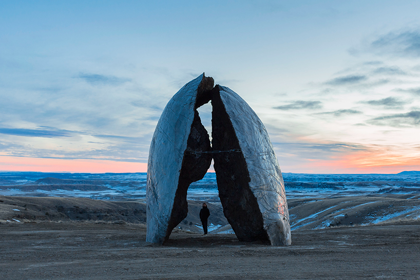NORTH AMERICA: Tippet Rise Art Center, Sculptural Experience - Fishtail, Montana