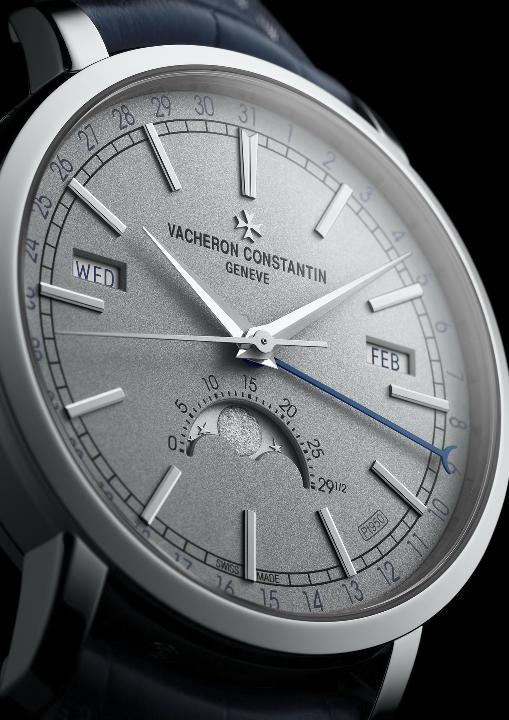 VACHERON CONSTANTINE: TRADITIONNELLE COMPLETE CALENDAR Collection Excellence Platine