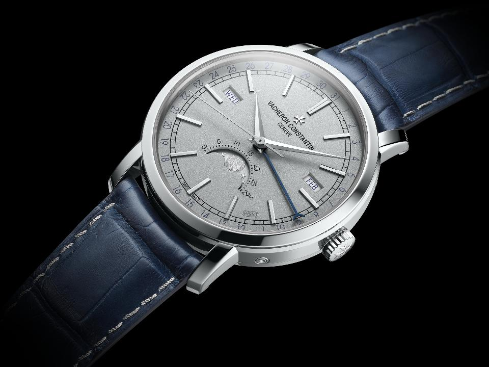 VACHERON CONSTANTIN: TRADITIONNELLE COMPLETE CALENDAR Collection Excellence Platine