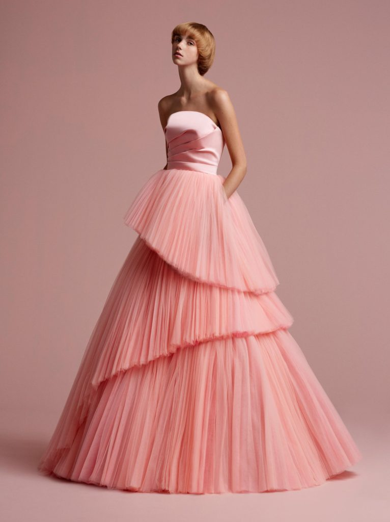 VIKTOR & ROLF SOIR: Cutting Edge Tulle Gown