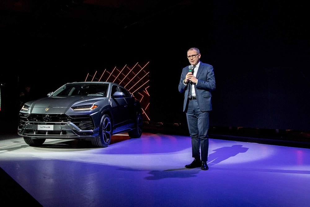 Stefano Domenicali Introducing The URUS