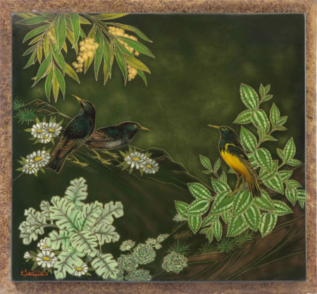 gaston suisse galerie dumont african blackbirdsil