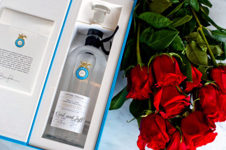 CASA DRAGONES TEQUILA VALENTINE'S DAY CUSTOMIZED LABEL