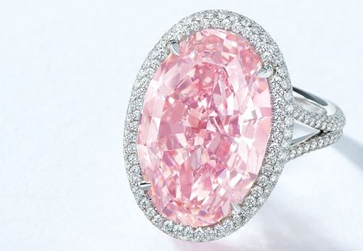 PINK PROMISE FANCY VIVID PINK - Photo Courtesy of Christie's