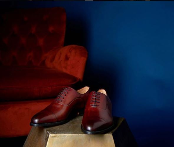 Shoe Passion Bordeaux oxford patina collection mens shoe