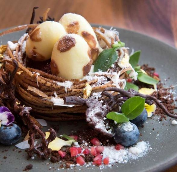 aquavit restaurant nyc arctic bird's nest