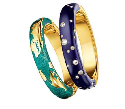 Verdura Night & Day Bracelets