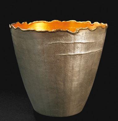 CLAVELINO: Silver and 24K Gold, 2008 - ALEXANDRA AGUDELO