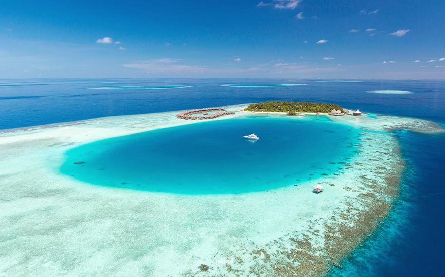 BAROS ISLAND AERIAL VIEW