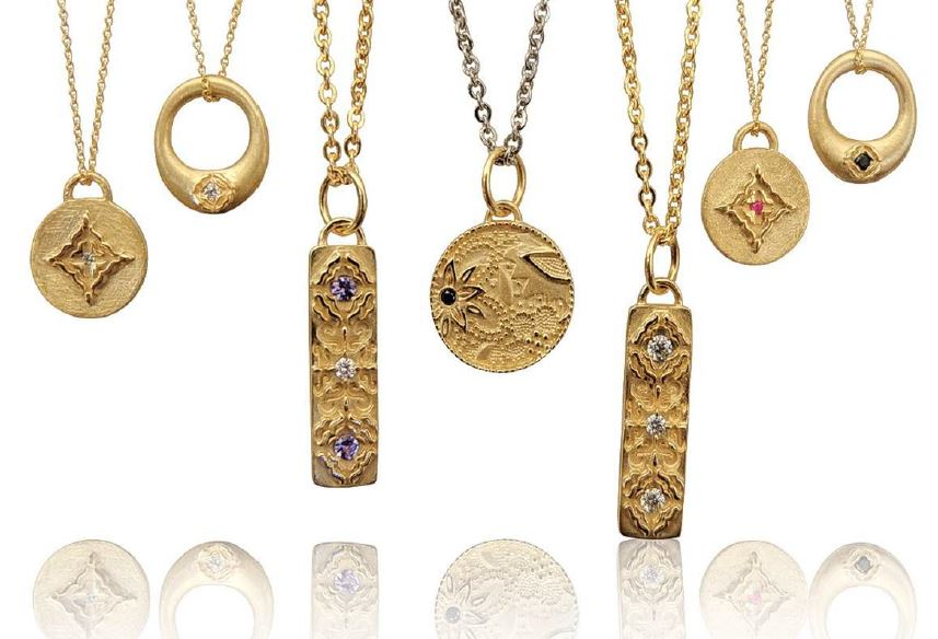 LUCA JOUEL: PENDANT NECKLACE COLLECTION