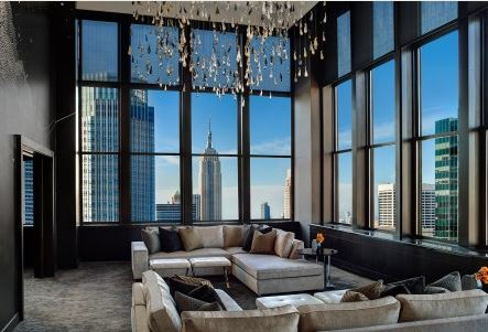 New York Palace Hotel Champagne Suite