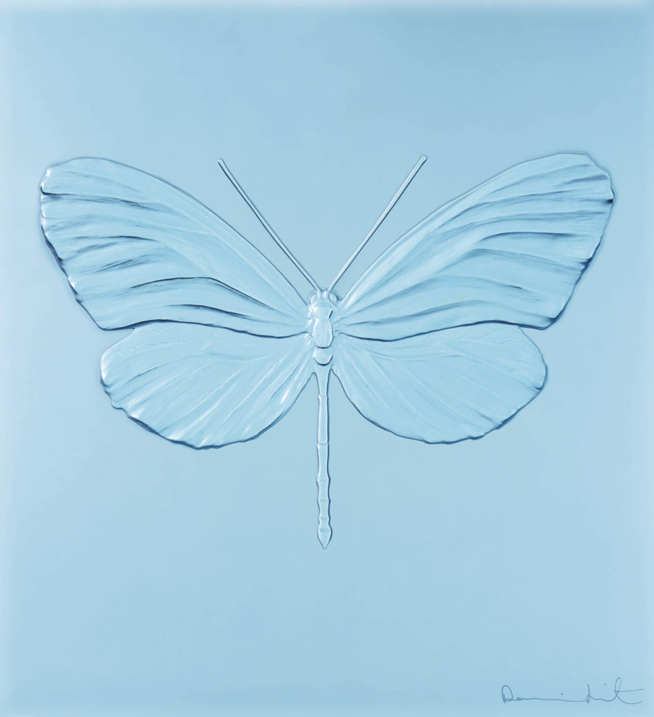 ETERNAL HOPE LIGHT BLUE PRUDENCE CUMING ASSOCIATES DAMIEN HIRST LALIQUE