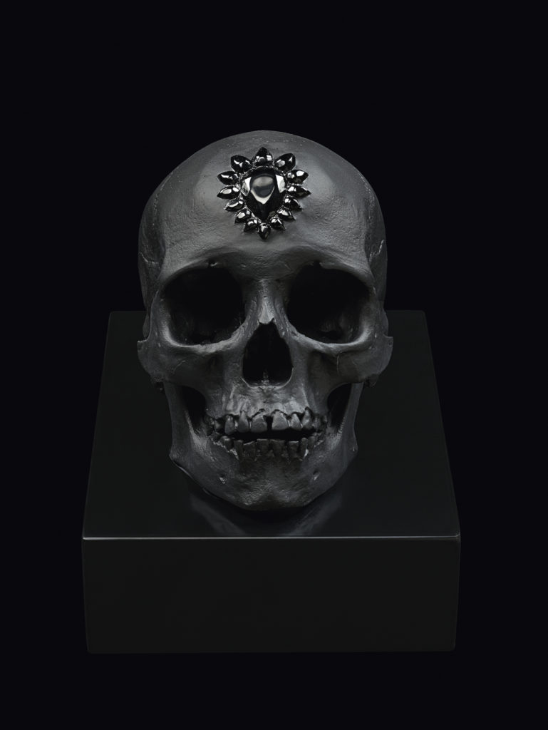 ETERNAL SLEEP BLACK PHOTOGRAPHED BY PRUDENCE CUMING ASSOCIATES LTD. DAMIEN HIRST SCIENCE LTD LALIQUE