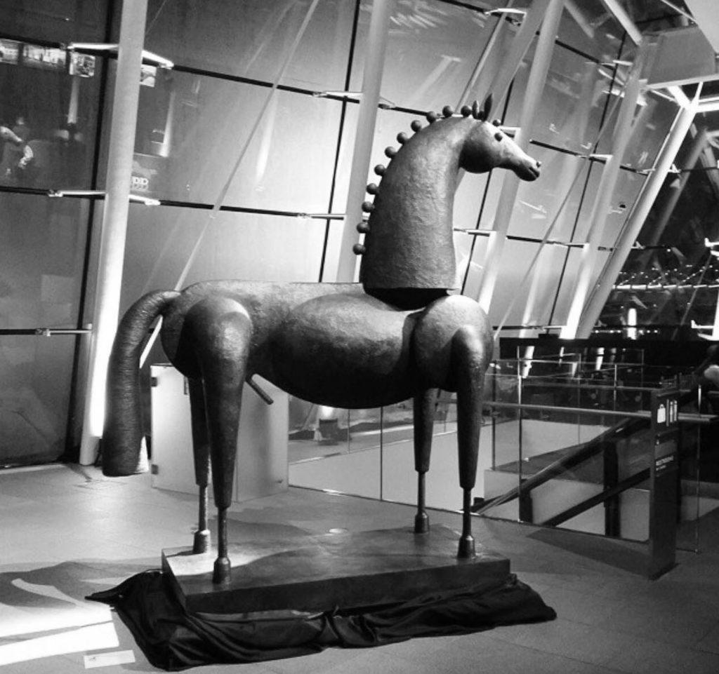 Galerie Dumonteil Bronze Horse By Jean Marie Fiori