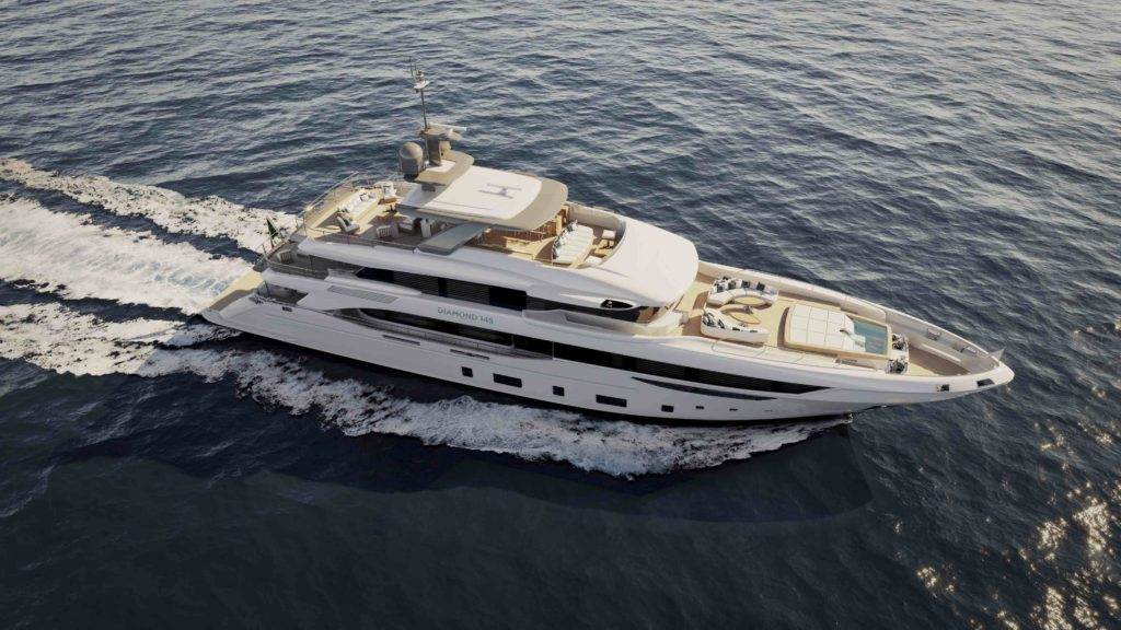 Diamond 145 benetti yachts Cannes yachting festival 2018