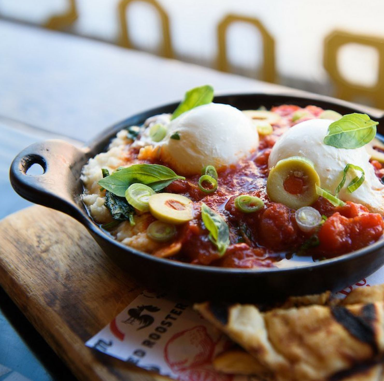 RED ROOSTER: BRUNCH - SHAKSHOUKA