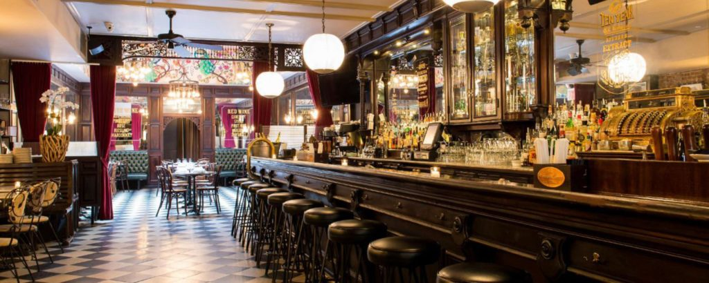 the bar room RESTAURANT NYC