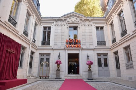PARIS, FRANCE - SEPTEMBER 27: General atmosphere at the Roger Vivier Presentation Spring/Summer 2019 during Paris Fashion Week on September 27, 2018 in Paris, France. (Photo by Francois Durand/Getty Images For Roger Vivier)
