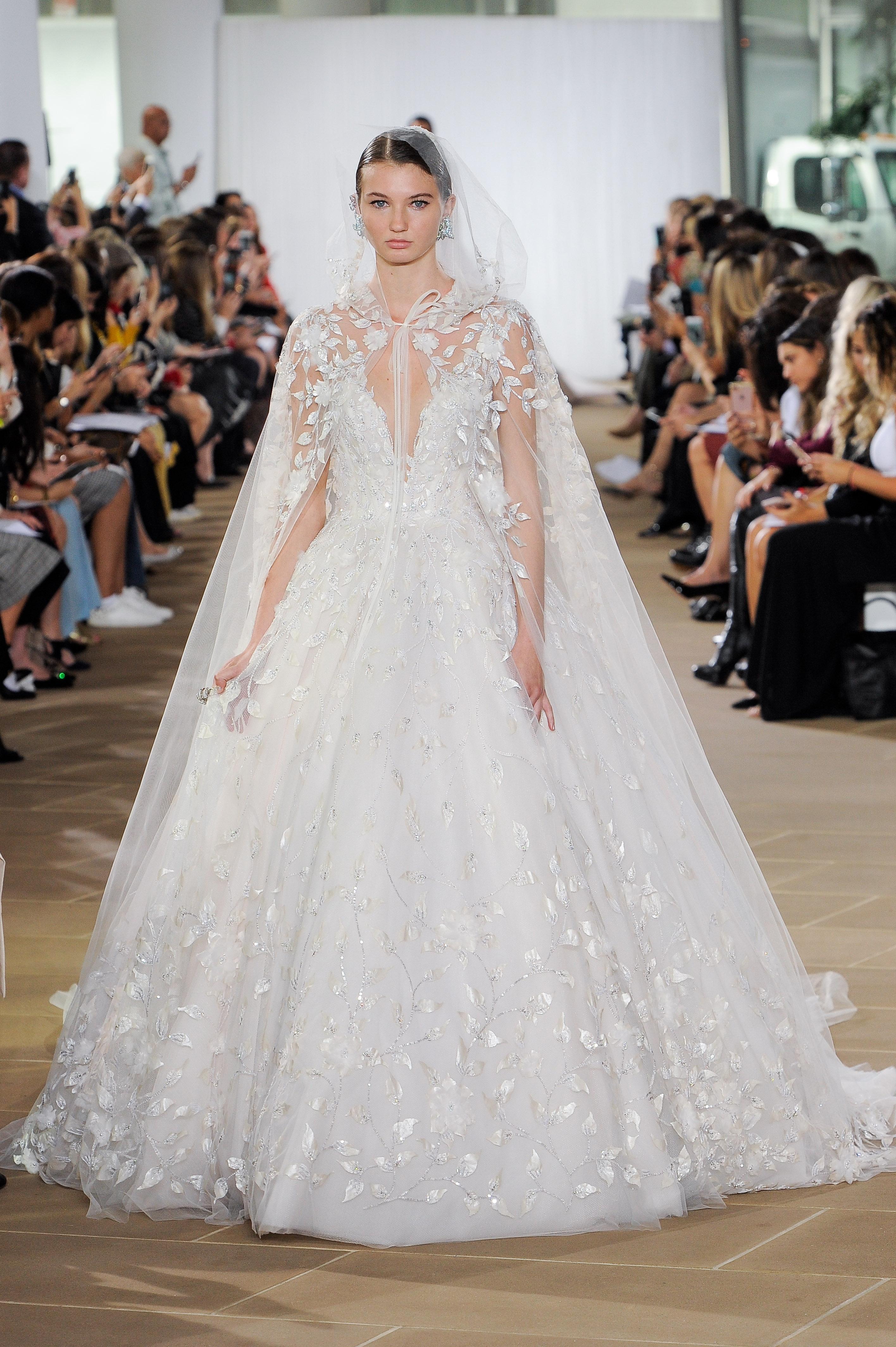 LILIA: Ines di Santo, Bridal Fall 2019,