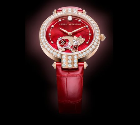 Harry winston chinese new year pig