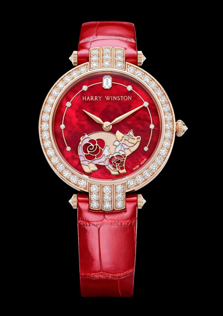 HARRY WINSTON: CHINESE NEW YEAR COMMEMORATIVE