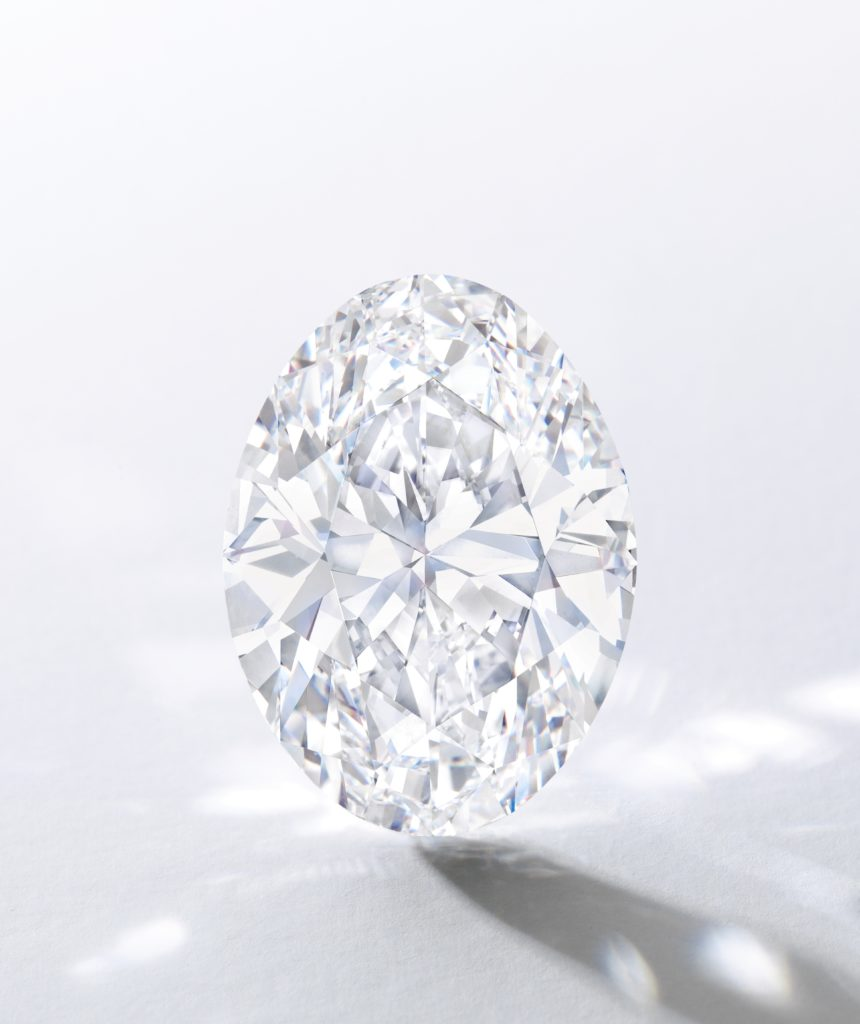 SOTHEBY'S: The Spectacular 88.22 Carat Oval Diamond