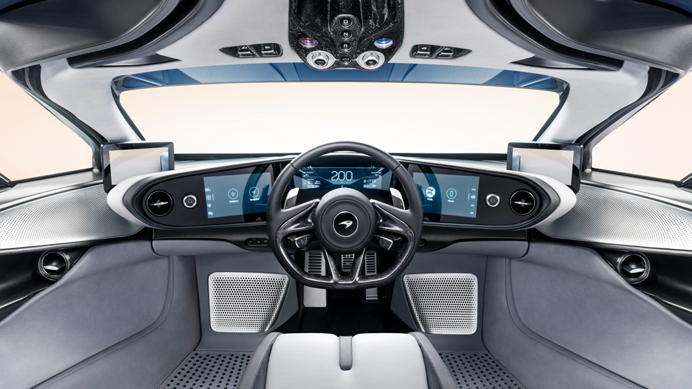 McLaren: Speedtail - Interior