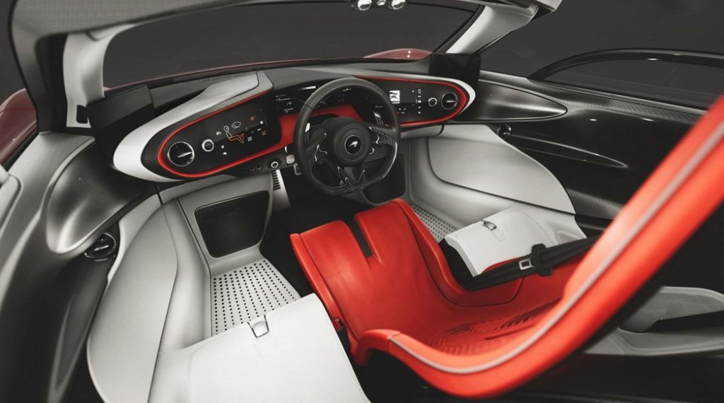 McLaren: Speedtail - bloodline Interior