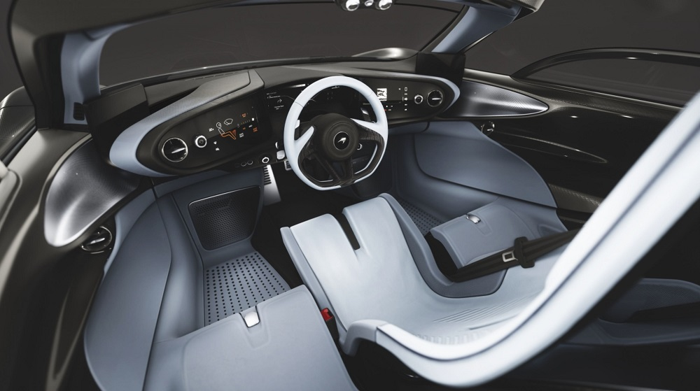 McLaren: Speedtail - Stratophere Interior