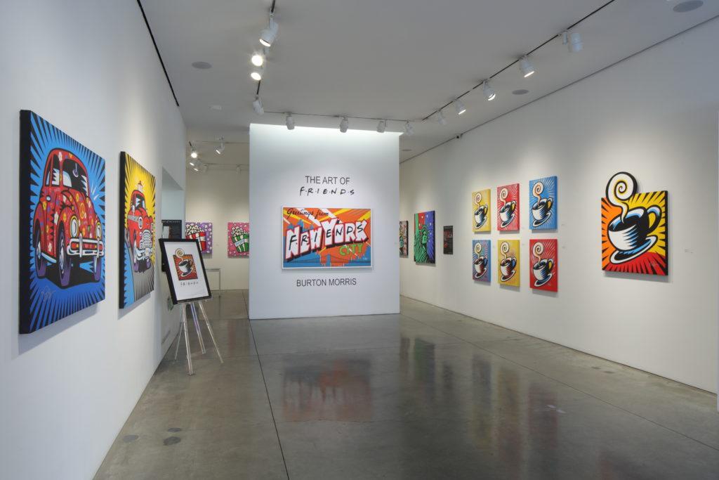 burton morris frineds art exhibit